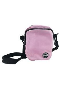 Mini Bolsa Lateral Chronic Shoulder Bag Rosa Lisa