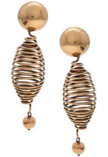 Brinco Espiral Lool - Dourado