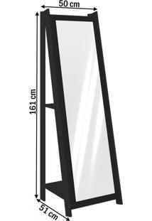 Espelho 3083 Preto - Móvel Bento