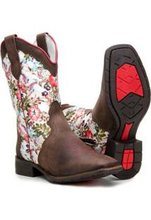 72c9159a86d Bota Country Estampada feminina
