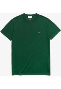 Camiseta Lacoste Masculino - Masculino-Verde