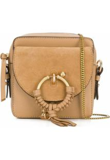 See By Chloé Woven Hoop Cross Body Bag - Neutro