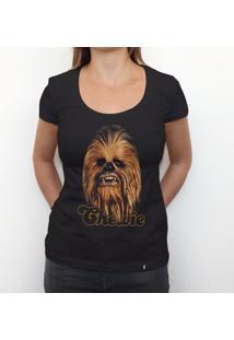 Chewie - Camiseta Clássica Feminina