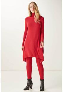 Meia Calça Color Vermelho - P