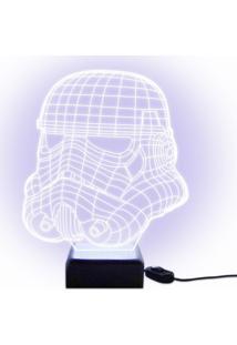 Luminária Acrilize Stormtrooper Incolor
