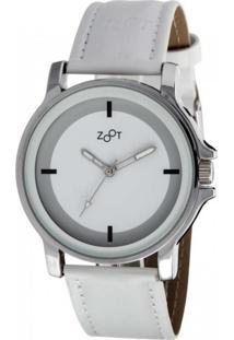 Relógio Casual Zoot Analógico Chelsie Zw10056-B Branco
