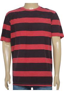 Camiseta Masc Individual 304.22222.155 Vermelho/Bordo