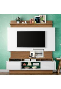 Painel Para Tv Tb112 Off White/Freijo - Dalla Costa