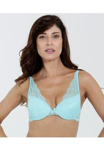 085df3267 ... Sutiã Feminino Push Up Com Aro Renda Marisa