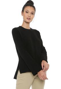 Blusa Osklen Eco Comfy Preta