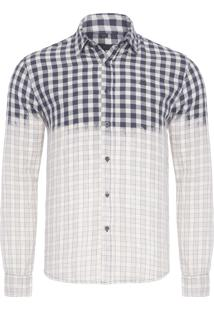 Camisa Masculina Fred - Off White