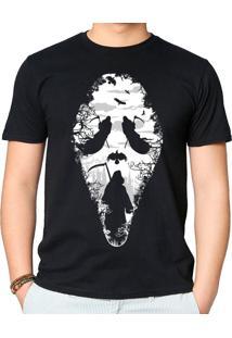 Camiseta Reaper Scream Geek10 - Preto