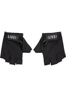 Luva Fighter - Preto - Live!