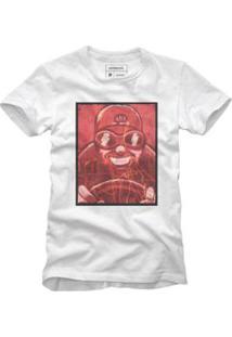 Camiseta Reserva Acelerado Masculina - Masculino-Branco