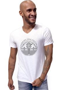 Camiseta Joss Flame B Newport Folk Branca