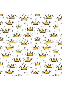 Papel De Parede Adesivo Coroa De Príncipe (0,58M X 2,50M)