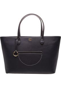 Bolsa Low Shopper Grande- Azul Marinhoarezzo & Co.