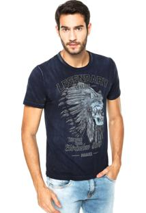 Camiseta Sommer Mini Legendary Azul Marinho