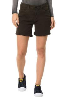 Shorts Color Calvin Klein Jeans Five Pockets Preto - 36