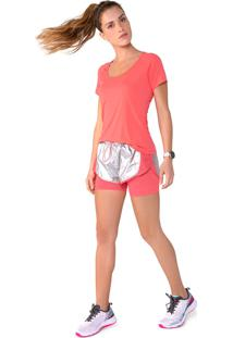 Camiseta Olympikus Camiseta Olympikus Runner Feminina Coral - Kanui