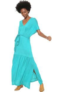 5692531c38 Vestido Cantao Decote V feminino