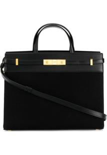 Saint Laurent Bolsa Tote Manhattan - Preto