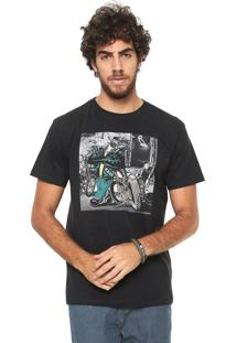 Camiseta Reserva Biker Brutu Preta