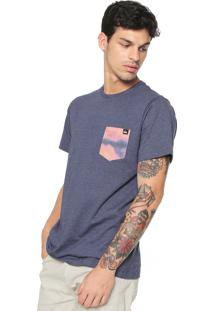 Camiseta Quiksilver Pack Pocket Azul