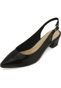 Scarpin Chanel Lady Queen Am18-41003 Verniz Preto