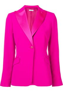 P.A.R.O.S.H. Single Breasted Blazer - Rosa