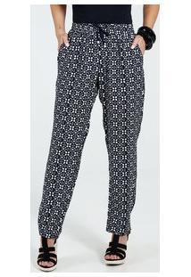 Calça Feminina Pijama Estampa Bolinhas Marisa