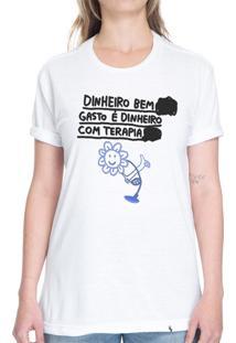 Dinheiro Bem Gasto - Camiseta Basicona Unissex