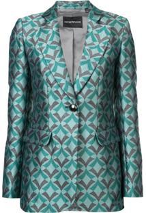Emporio Armani Blazer 'Fashion' - Verde