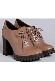 Sapato Oxford Feminino Dakota Marrom