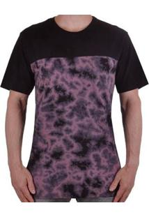 Camiseta Mcd Washed Tie Dye Dark Masculina - Masculino