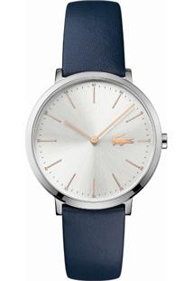 Relógio Lacoste Feminino Couro Azul - 2000986