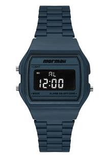 Relógio Mormaii Unissex Vintage Azul Mojh02Bi/8A Mojh02Bi/8A