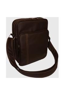 Bolsa Shoulder Bag Rafi Marrom