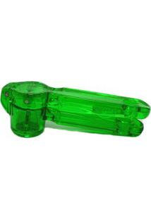Amassador De Alho Plástico 15X5 Cm Verde Basic Kitchen