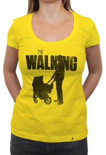 The Walking Dad - Camiseta Clássica Feminina