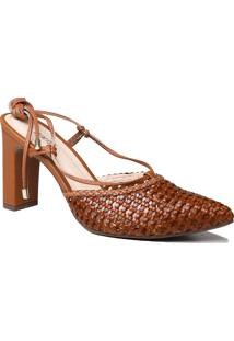 Sapato Slingback Zariff Com Amarração
