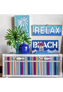 Placa Decorativa Relax