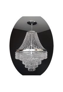 Lustre Pendente Cristal Acrílico 40X140 Lina Design Ac42