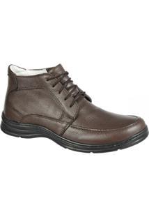 Sapato Confort Plus Bmbrasil 2713 - Masculino-Marrom