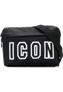 Dsquared2 Pochete 'Icon' - Preto