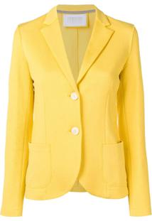 Harris Wharf London Blazer Texturizado - 227 Yellow