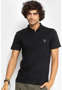 Camisa Polo Coca-Cola Masculina - Masculino-Preto