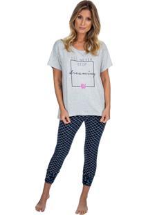 Pijama Capri Dreaming Azul