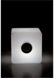 Luminaria Banco/Cubo 2 G/The Lamp White Cub - 40X40X40