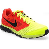 f2a98923a Tenis Masc Nike 630915-706 Zoom Fly Vermelho Amarelo Pto